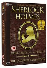 Sherlock Holmes: The Complete Collection Jeremy Brett Brand New DVD