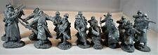 "TSSD04A ""WWII German Infantry in Overcoats (Gray)"" 54mm Plastic Toy Soldiers"