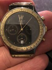 Hublot Mdm Quartz Chronographe A Reparer Or/acier
