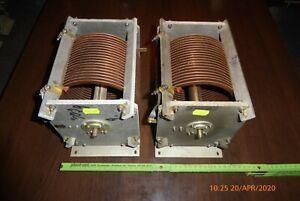 2 STÜCK QRO Rollspule 39 µH,Variable Inductor, Antennenkoppler,Antennentuner,