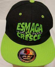 """Esmaga Q Cresce"" Pit Bull Snapback One Size Fits Most New"