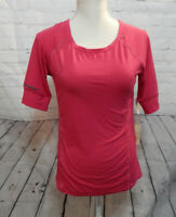 Womens Strawberry Tangerine Short Sleeve Shirt size S