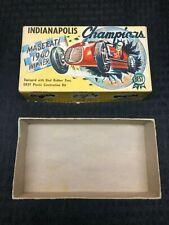 Vintage Indianapolis Champions Maserati 1940 Winner Model Kit Original Box ONLY