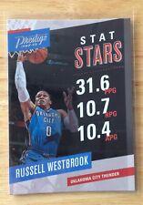 Russell Westbrook 2017/18 Panini Prestige baloncesto Trading Card No6 NBA