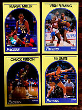 1989/90 Hoops REGGIE MILLER + 3 ~ YELLOW BORDER SEARS CARDS ~ A LOT OF FIVE!!!!