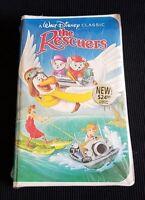 NEW! 1992 A Walt Disney Classic The Rescuers The Classics Black Diamond Edition