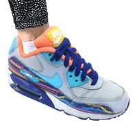 Nike Unisex 833418-012  Air Max 90 Leather Low-Top Trainer/Sneaker grey Size 5
