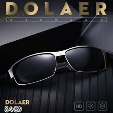 Mens Polarized Sunglasses Driving Glasses Outdoor Sports UV400 Mirrored Eyewear