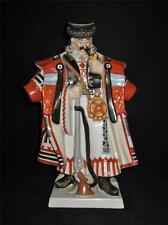 """Large Herend Porcelain Figurine Hungarian Man 5440 Hussar, 13"""" Tall Hand Painted"""