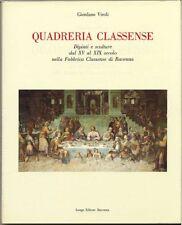 Quadreria classense-Giordano Viroli. 1993 Longo. 286 pp, copertina rigida, sovra