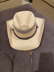 Shady Brady Straw Cowboy Hat
