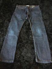 Mens Blue Slim Fit Jeans W34 L33