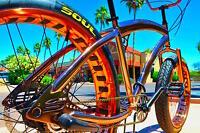 Fat Tire Beach Cruiser Bike - SOUL STOMPER - Copper color 3 speed - NEW!!