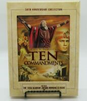 THE TEN COMMANDMENTS - 50TH ANNIVERSARY COLLECTION 3-DISC DVD SET, 1923 & 1956