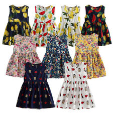 Flower Infant Girl Princess Dress Kid Baby Party Wedding Pageant Dresses Clothes