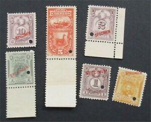 nystamps Peru Stamp Specimen      S24x900