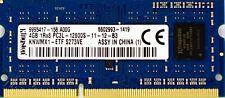 Kingston 4GB PC3L-12800S (DDR3 Low-Power-1600Mhz,1RX8) Ordinateur Portable Ram