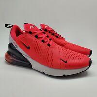 Nike Air Max 270 Mens 13 Red Orbit Black Running Shoes Sneakers BV6078 600 NEW