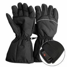 Electric Heated Gloves Waterproof Thermal Motorcycle Winter Windproof Gloves New