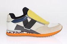 NEW $600 DOLCE & GABBANA Shoes Sneakers Multicolor Leather Sport EU40 / EU41