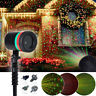 Christmas LED Laser Projector Star Motion Light In/Outdoor Landscape Stage Lamp
