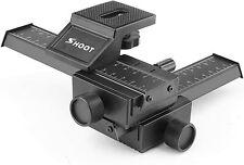 SHOOT Aluminum Pro 4-Way Macro Focusing Rail Slider
