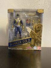 S.H.Figuarts Power Rangers Samurai Super Sentai Shinkenger Shinken Gold