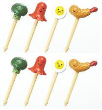 Torune Lunch Decoration Bento Accessory 3D Food Pick Vegetable 8pcs