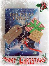 Silver i believe polar express style metal jingle santa christmas boxed bell