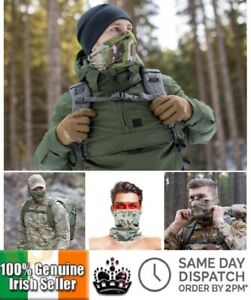 Camouflage Military Face Mask Neck Warmer Snood Hunting Tube Balaclava Bandana