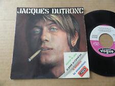 """DISQUE 45T DE JACQUES DUTRONC  """" LE COURRIER DU COEUR """""""