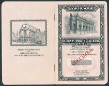 More details for xt543= national provincial bank letter of credit letter of indication 1938
