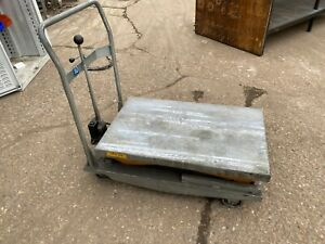 HIGH LIFT TABLE, 500KG MAX WEIGHT (MG1425)