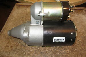 BBB industries  6319 Remanufactured  starter motor  84 - 87 pontiac chevy