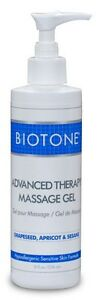 Biotone Advanced Therapy Massage Gel 8 oz. With Pump