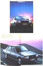 Renault 9 GTX Auto GTL 1984-85 Original Dutch Brochure