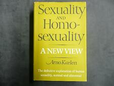 Sexuality and Homosexuality: a New View by Arno Karlen LCCC 70-116103 book vtg