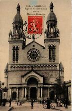 CPA PARIS (13e) Eglise Ste-Anne de la Maison Blanche. (535733)