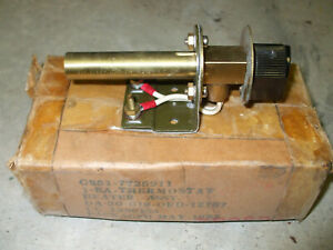 Post WWII Dodge Truck M37 M43 Personnel Heater Thermostat Ordnance Military War