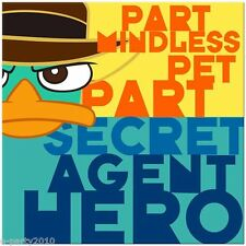 PHINEAS & FERB Agent P LUNCH NAPKINS (16) ~ Birthday Party Supplies Serviettes