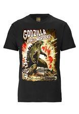 Kult - Film - Japan - Godzilla - König der Monster T-Shirt - schwarz - TRAKTOR®