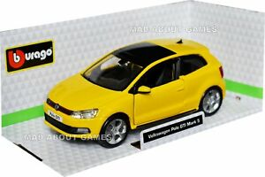 Volkswagen VW Polo MK5 GTI 1:32 Scale Model Car Toy Childs Kids Fathers Dad Gift