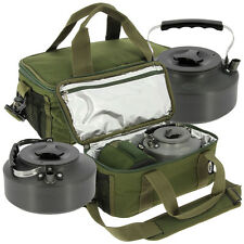 NGT Fishing Insulated Brew Kit Cool Bag with 1.1L Kettle Carp Coarse Fishing Set
