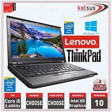 Cheap Lenovo Thinkpad X230 Core i5 2.60GHz 16GB Ram SSD Laptop Windows 10 Gaming
