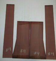 GUITAR CLASSICAL BACK & SIDE PURPLEHEART SET AAAA14  LUTHIER TONEWOOD BOOK MATCH