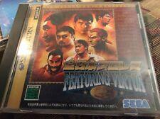 All Japan Pro Wrestling Featuring Virtua For Japanese Sega Saturn *Usa Seller*