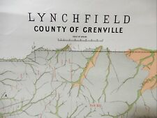 [Map]. Lynchfield, County of Grenville. c. 1890.