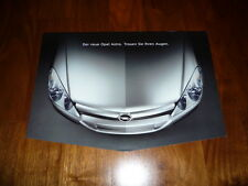 Opel Astra Prospekt 08/2003