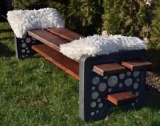 """Victorian bench tile mold plaster concrete mould 27/"""" x 9.5/"""" x 1.20"""