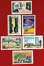 1965-1967 Central Africa mint selection - 61 / 86 - 6 stamps